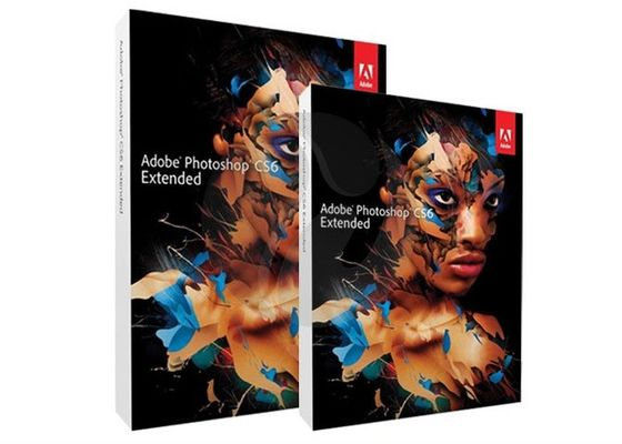 Cina Perangkat Lunak Desain Mac Adobe Graphic, Adobe Photoshop CS6 Extended Full Version Distributor