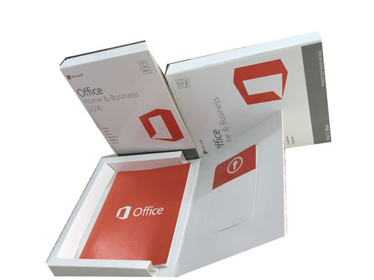 Cina Original Mac MS Office Home And Business 2016 Versi Eceran FPP Gratis pabrik