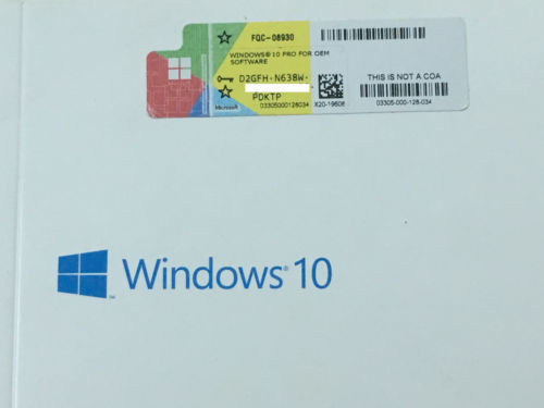 Cina Activated Online COA License Sticker Windows 10 Professional Activation Key Distributor