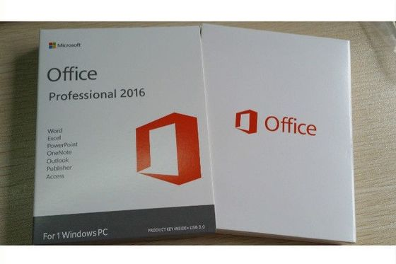 Cina Full Version MS Office Professional 2016 Product Key Standard DVD Kotak Ritel pabrik