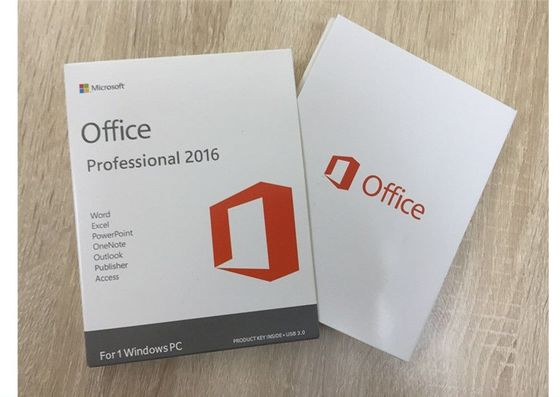 Cina Versi Inggris Windows Server 2016 OEM, Microsoft Office 2016 Professional Plus pabrik