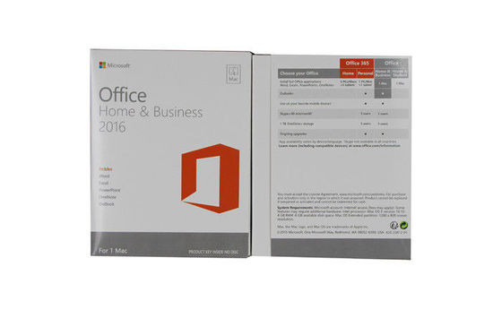 Cina MS Home And Office 2016, Rumah dan Bisnis Microsoft Office 2016 1 Pc Download DVD pabrik